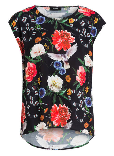 Tigha Linja Flower Damen Bluse