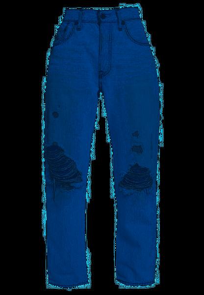 Levis 501 Crop Montgomery Damen Jeans
