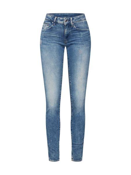 G-Star Midge Zip Mid Skinny Damen Jeans