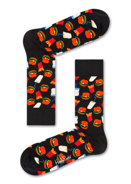 Happy Socks Hamburger Socken