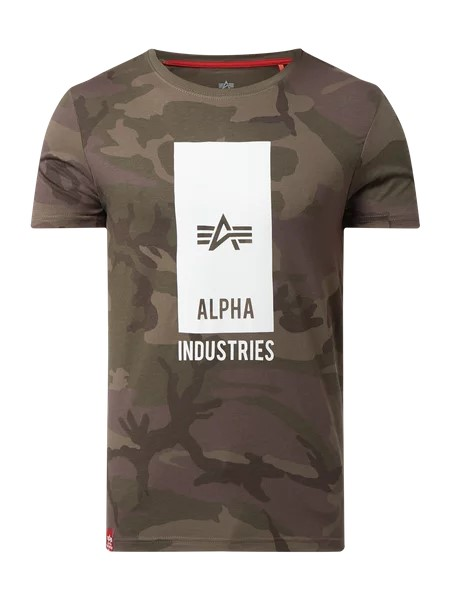 Alpha Industries Block Logo Herren T-Shirt
