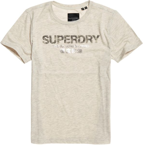 Superdry City Nights Snake Damen T-Shirt