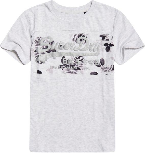 Superdry VL Rose Panel Entry Tee Damen T-Shirt