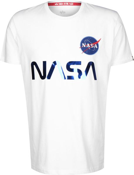 Alpha Industries NASA Reflective Herren T-Shirt