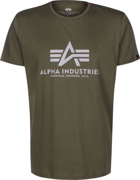 Alpha Industries Basic Reflective Print Herren T-Shirt