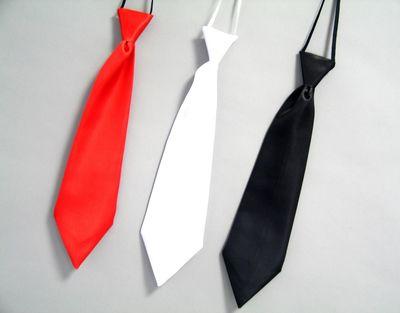 Satin Krawatte ca. 42 cm  Karneval Fasching