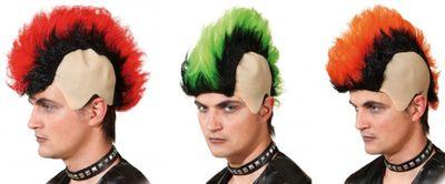 Herrenperücke mit Koteletten Karneval Fasching