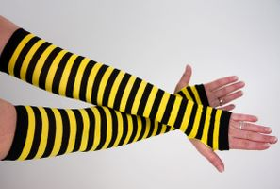fingerlose Bienen-Armstulpen