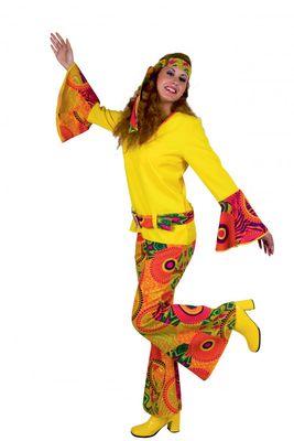 Hippie-Mädchen Kostüm der 60er und 70er Jahre