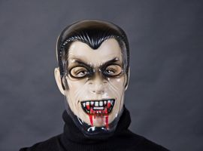 transparente Maske Vampir