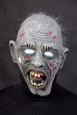 Zombie mit Haarflaum