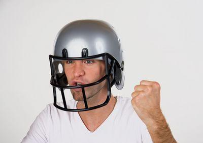 Football-Helm