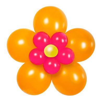 Ballon-Set Blume, Ø ca. 70 cm