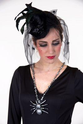 Halskette Tarantel, ca. 105 cm