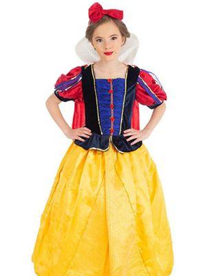 Schneewittchen Kostüm Märchen-Kostüm für Kinder Gr. 98-104