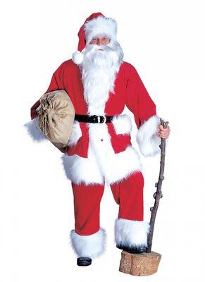 Weihnachtsmann Kordanzug Nikolaus Weihnachten