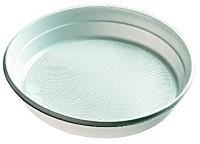 Kunststoff - Plastik Teller 219x23mm weiß 100 Stück ungeteilt