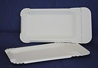 Pappteller Wursttablett mit Abriss 250 Stück 9x15cm Wurstteller