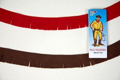 Indianer-/Cowboy Fransen ca. 180 cm  Karneval Fasching