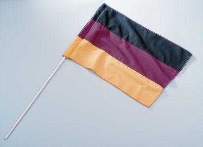 Deutschland Flagge Fahne mit Stab