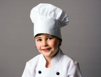 Kochmütze für Kinder Karneval Hut Koch Kindermütze