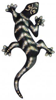 Deko-Gekko aus Metall, 3 Größen erhältlich