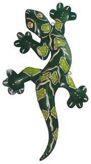 Deko-Gekko aus Metall, 2 Größen erhältlich