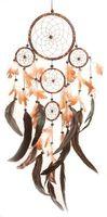 Dreamcatcher batik - Traumfänger Ø 14 cm & 4 x klein