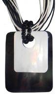 Halskette mit Muschelanhänger, Modeschmuck, Natur-Schmuck mit Muschel