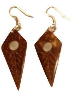 Ohrringe aus Kokos