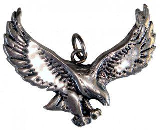 Gothic-Anhänger Adler, mystischer Schutz-Anhänger