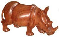 Nashorn aus Holz, Soar-Wood