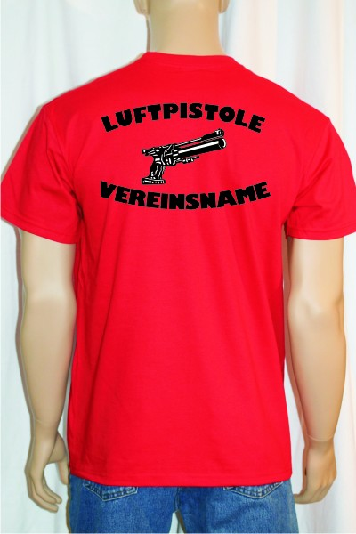 "T-Shirt bedruckt "" Luftpistole "" – Bild 1"