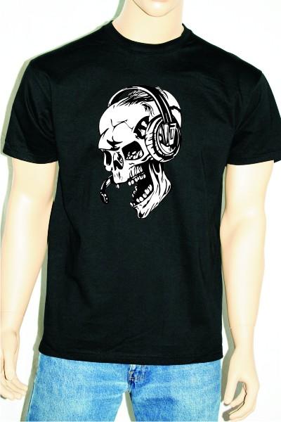 """T-Shirt bedruckt """" Totenkopf """" 050"""