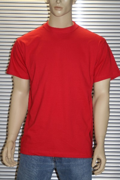 T-Shirt von EUROPE TREND SPORTS in Red  – Bild 1