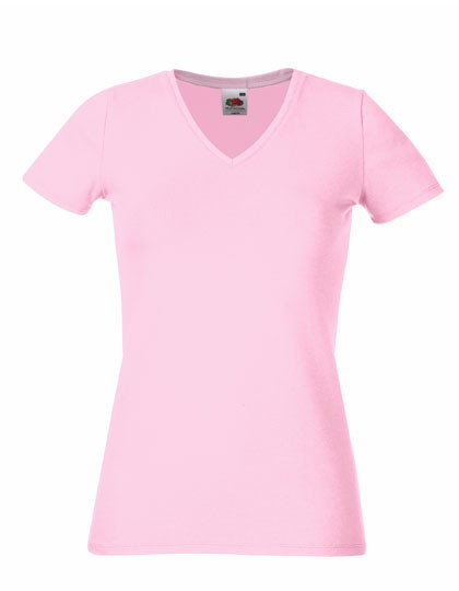 New Lady-Fit V-Neck T – Bild 4