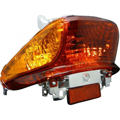 Rücklicht Sport orange Blinker,    passend für Metalltank