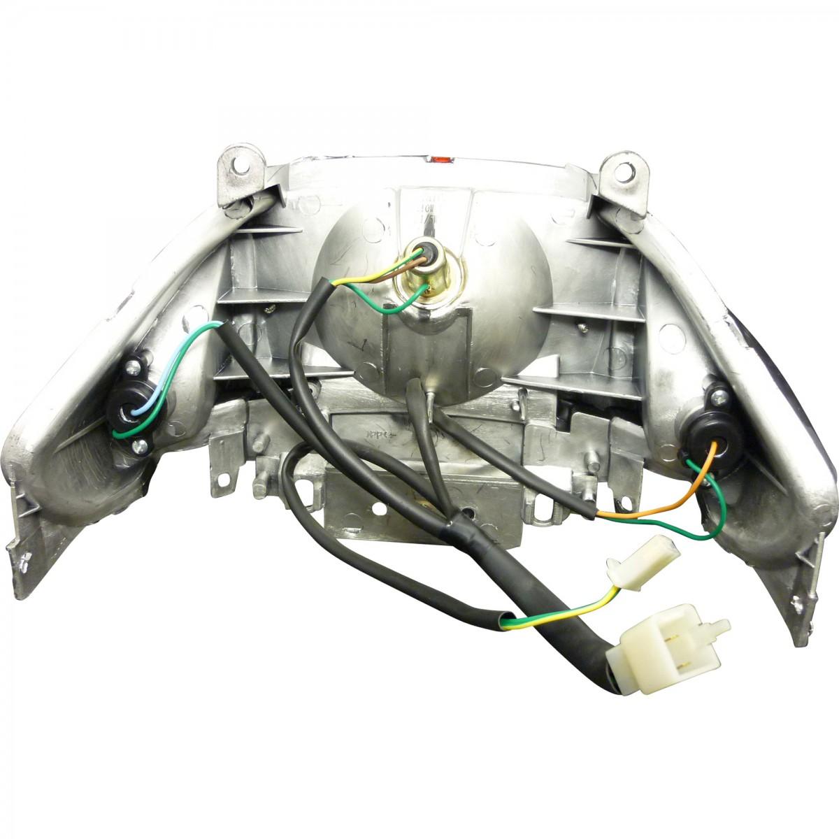 Rücklicht LED (E4) incl. Kabel/Stecker