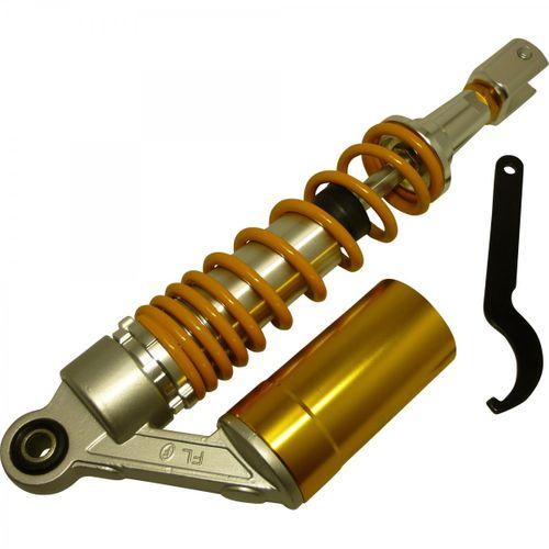 Gasdruck Federbein 320mm incl. Werkzeug,Schraube (Gelb)