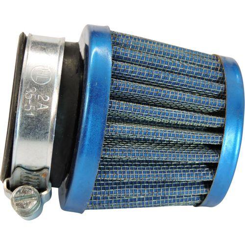 Sportluftfilter Blau 38mm