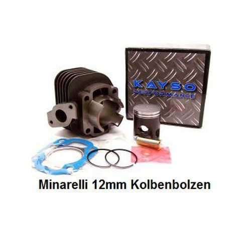 50ccm Zylinder AC Minarelli Bolzen 12mm,Dichtsatz,Kolbensatz