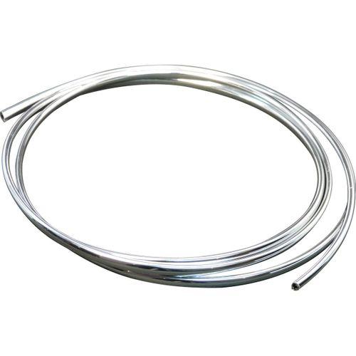 Kantenschutz Chrom 5m (8x5mm)