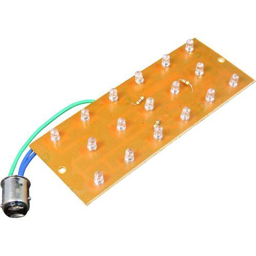 LED-Platine BA20d Sockel für Rücklicht (Rücklicht, Bremslicht)