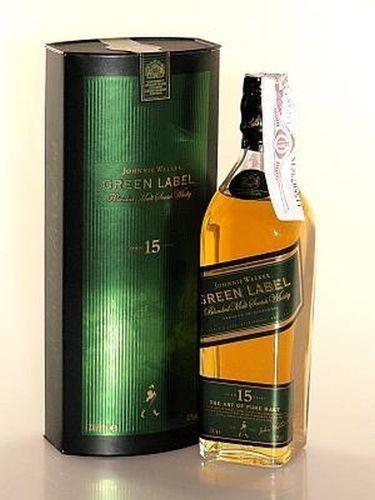 Johnnie Walker Green Label 15 Years 0,2L SONDERPOSTEN