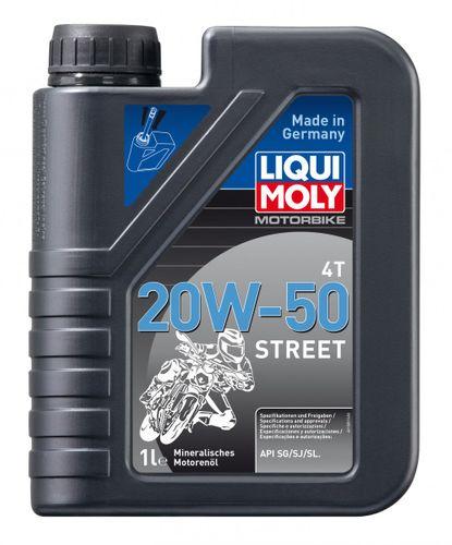 Liqui Moly 1500 Motorbike 4T 20W-50 Street 1 Liter
