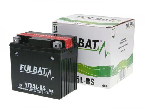 Batterie Fulbat 12V 4Ah FTX5L-BS MF wartungsfrei