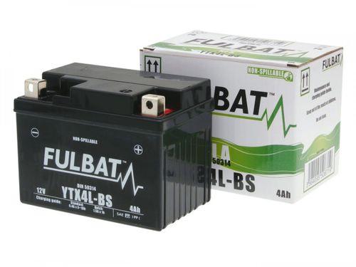 Batterie Fulbat 12V 3Ah FTX4L-BS wartungsfrei