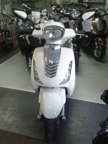 """Motorroller KAYSO Scooter """"Classico Grande"""" 49ccm classic white YY50QT-31"""