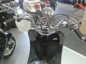 "Motorroller KAYSO Scooter ""Retro Grande"" 49ccm schwarz metallic YY50QT-21"