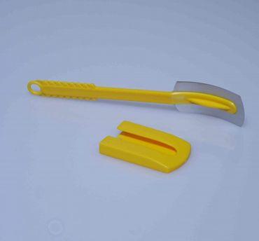 Baguettemesser gelb - gebogene Klinge